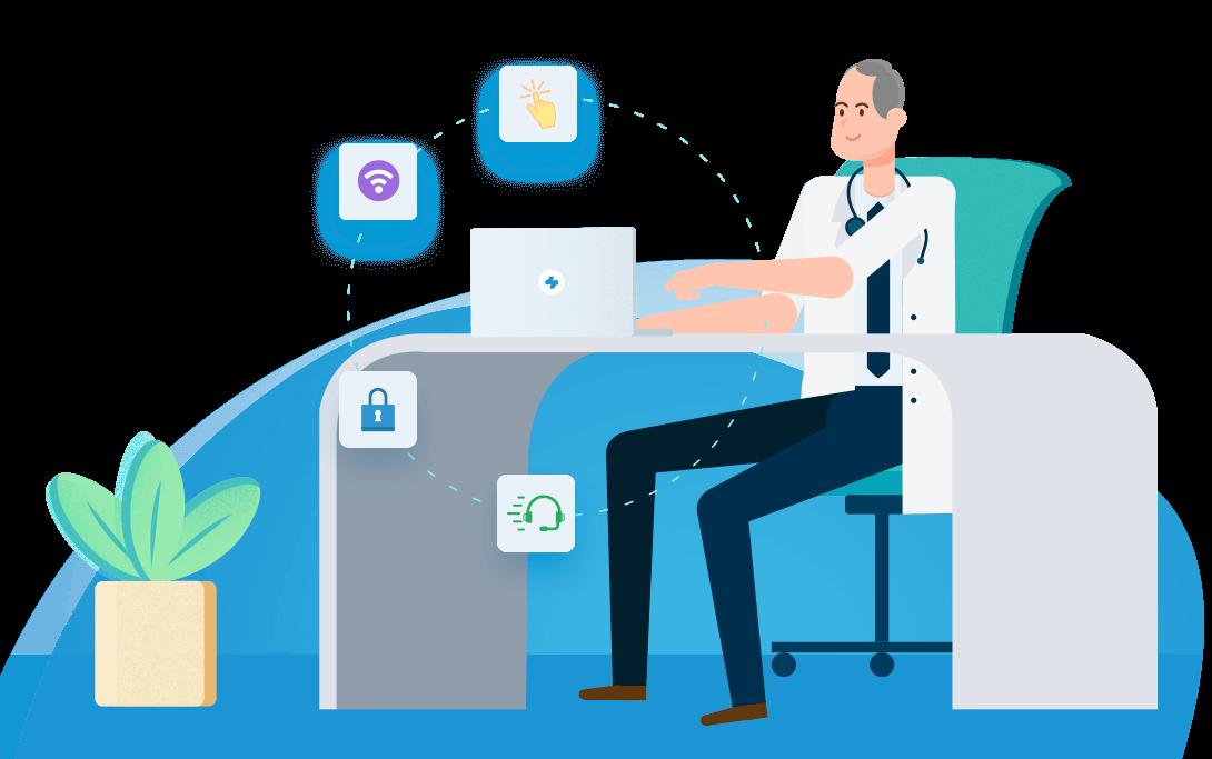 O Software Médico mais fácil de usar